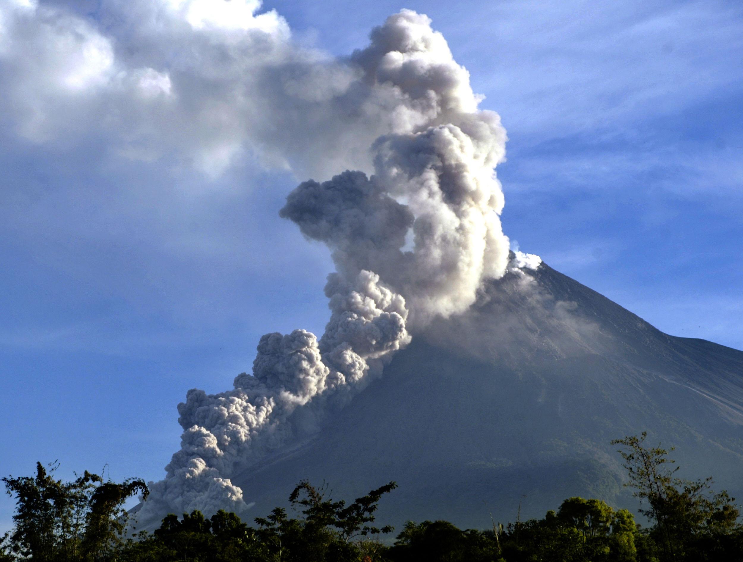 Foto-foto Gunung Merapi: Merapi Riwayatmu dulu dan kini